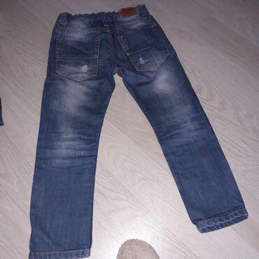 Teksas pantalone za decakaObucene jednom ili dva putaBez ostecenja5