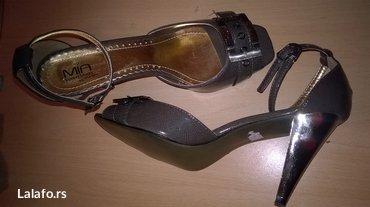 Nove sandale..Velicina 38 ..Boja tamno siva.. - Nis