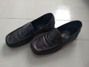 Продаю туфли б/у,  но отличном состоянии!! Синие немецкие туфли, кожа