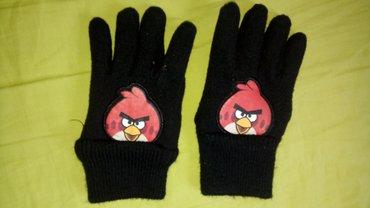 Rukavice HM ANGRY BIRDS 3, 4 god. Moderne kvalitetne rukavice - Novi Sad