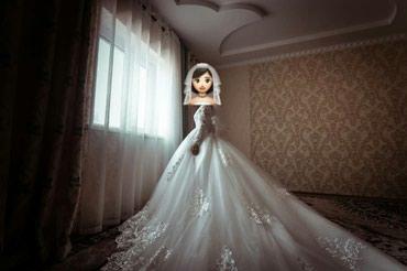Сдаю свадебное платье на прокат в Бишкек