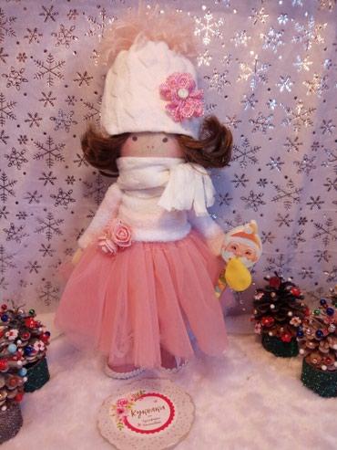 Интерьерная , новогодний подарок кукла игрушка ручной работы в Бишкек