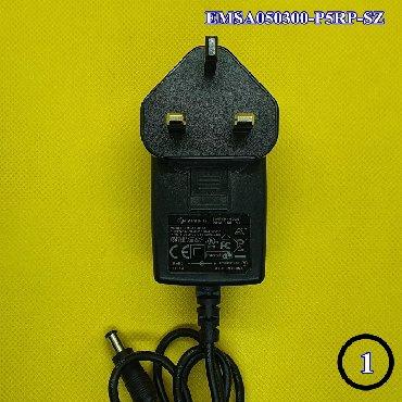 Orijinal adapter, zəmanət verilirEMSA050300-P5RP-SZVoltage - Output