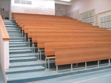 Парты со скамьёй для аудиторий 2 метра в Бишкек