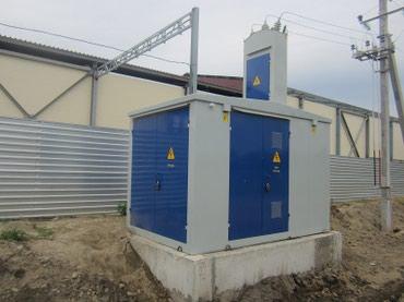 Другое электромонтажное оборудование - Бишкек: Силовые трансформаторы ТМ 25-1000 Квт/ ква, понижающий масляный