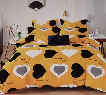 Kućni dekor - Sopot: Pamucne posteljine6 delova:Jorganska navlaka 200x220Dusecni carsav
