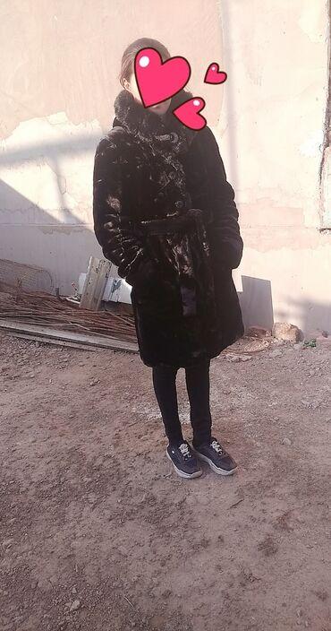 женская платья размер 46 48 в Кыргызстан: Продаю шубу! Новая,одевала лишь один раз. Размер 46-48