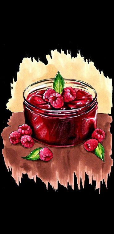 869 объявлений: Продаю варенье из малины свежая не варёная, без химии