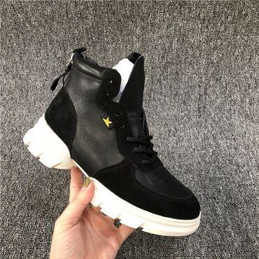 Ботинки осень, размер 37, очень удобные, носила пару раз, состояние хо
