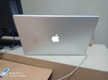 Apple Macbook pro satilir ekraninda lentinde bowluq var deye sixanda