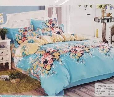 Veliki izbor bracnih posteljinaSet sadrzi carsav dve jastucnice i
