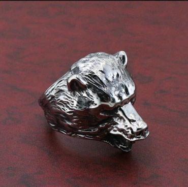 Мужская печатка: «Оскал Медведя». в Бишкек