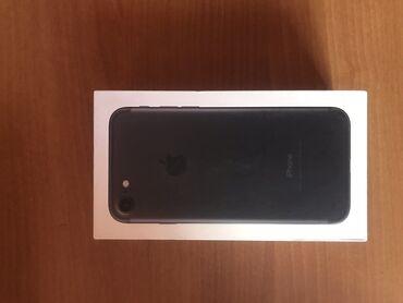 сколько стоит iphone 7 in Кыргызстан   APPLE IPHONE: IPhone 7   128 ГБ   Черный Б/У   Гарантия, Отпечаток пальца, С документами