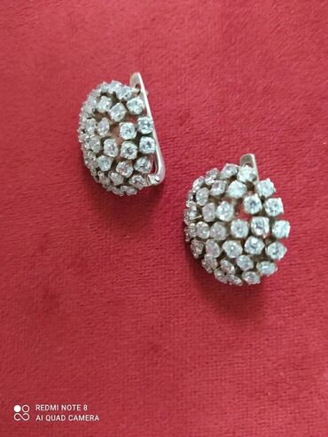 серебро бишкек in Кыргызстан   БРАСЛЕТЫ: Изумительные, шикарные,богатые и невероятно красивые серебряные серьги