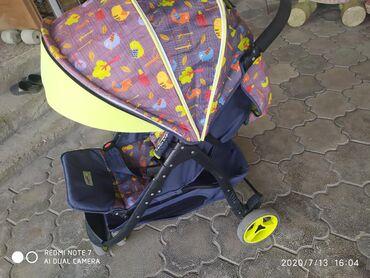 купить качалку детскую в Кыргызстан: Продаю детскую коляску, состояние очень хорошее, фирма cool baby. Трех