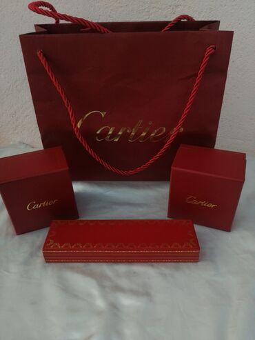 Aparat za zavarivanje - Nis: Cartier original kutije za burme kesa i kutija za hemisku