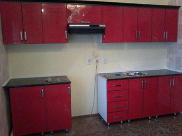 доставка кухонной мебели в Кыргызстан: Кухонный гарнитур пог/метр от 11000-Корпусная мебель на заказ-Замер