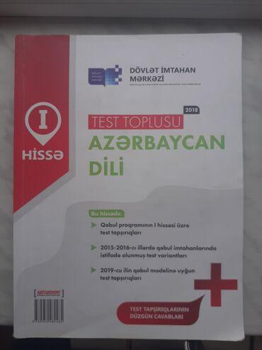 azerbaycan dili test toplusu pdf в Азербайджан: Yeni qalıb! Az dili 2019 test toplusu!