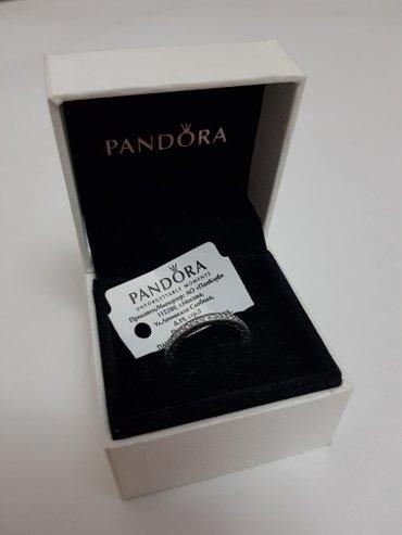 Кольцо pandora (оригинал) размер: 16,5 материал: серебро в Бишкек - фото 5