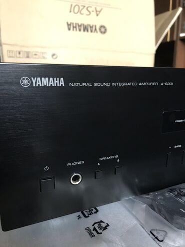 Продаю усилитель Yamaha A-S201. Новый, на гарантии