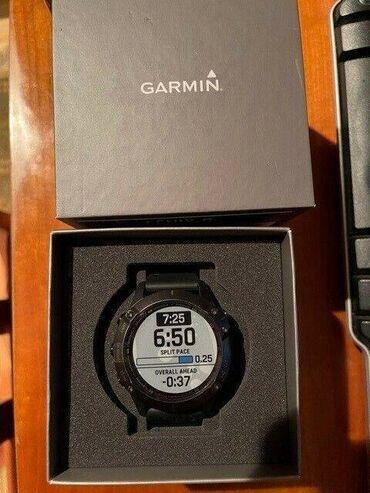 Личные вещи - Кара-Суу: Garmin Fenix 6 Pro Premium Multisport GPS Watch - черный - с аксессу