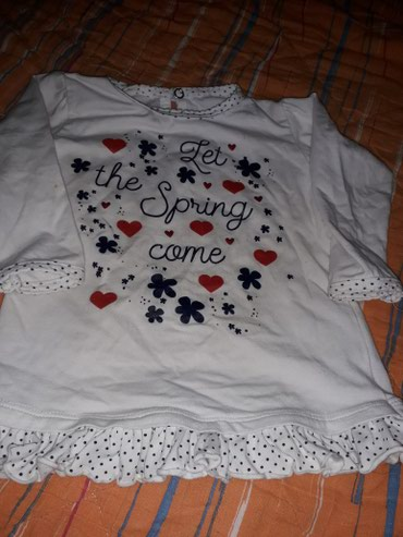 Dečiji Topići I Majice | Mladenovac: Majica za devojcice,uzrast 12 meseci.Bez ostecenja