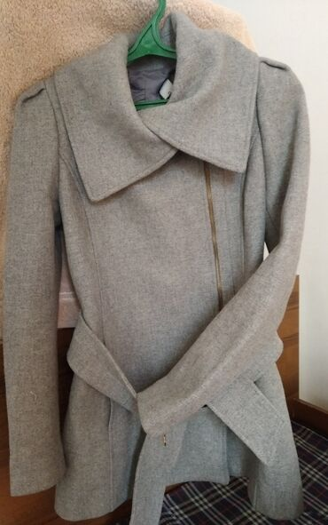 пескоблок размеры бишкек в Кыргызстан: #Пальто от mango,  #размер S #Цвет серый