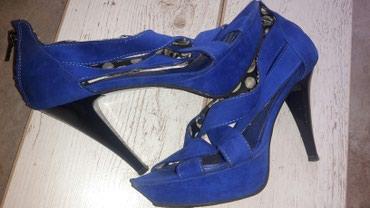 Stikla - Srbija: Prelepe plave stikla sandale vrlo se lepo kombinuju i udobne su