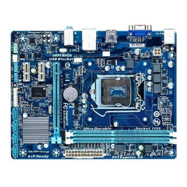Продаю материнские платы lga 1155  mb lga1155 gigabyte ga-h61m-se, int