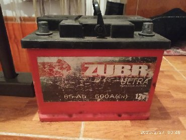 аккумуляторы для ибп 65 а ч в Кыргызстан: Б/У Аккумулятор 65 A/h обслуженный, в очень хорошем состоянииНа