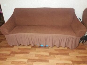 Мягкая мебель диван и два кресла в хорошем состоянии  в Кант