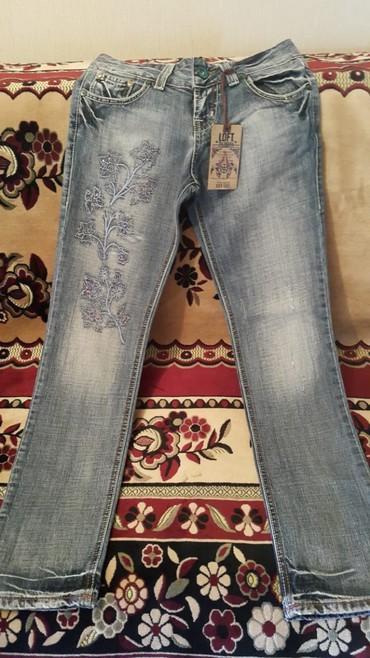 джинсы-новые в Азербайджан: Чисто Турецкие новые джинсы Loft,размер 25L,возраст:11-13 лет