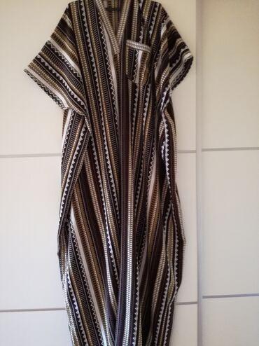 Haljine | Bajina Basta: Haljina za punije osobe iz uvoza, ravan kroj. Dužina 151, poluobim