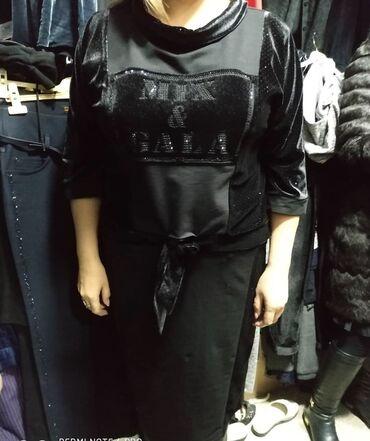 вечернее платье 48 50 размер в Кыргызстан: Продаю новый костюм!!!производство Турция !!! Размер 48-50