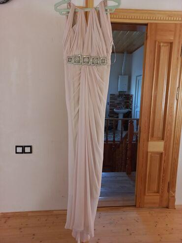 40 elan | ŞƏXSI ƏŞYALAR: Paltar xüsusi parçadan hazırlanmış brend geyimdi üzəri zərif tül ilə