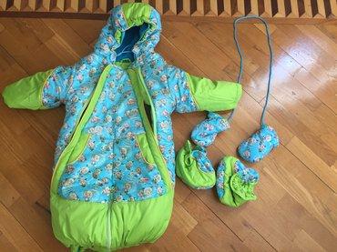 весенние комбинезоны для новорожденных в Азербайджан: Комбинезон - конверт трансформер