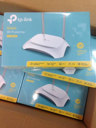 TL-WR840N repeater wifi (Mode Working) Range Extender 300mbps access в Bakı