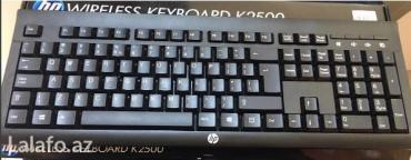 Bakı şəhərində • wireless keyboard • şunursuz və dözümlü * * gözəl təklifdən