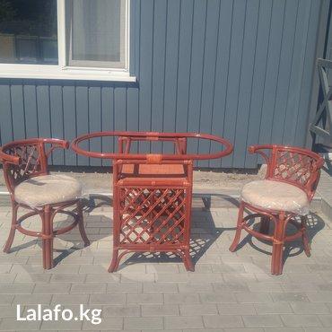 Комплект для завтрака, подходит для загородного дома, дачи, сада, в Бишкек