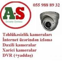 """Bakı şəhərində ✴Müşahidə kameraları  ✴  Sizin sayənizdə """"AS Security"""" şirkəti daha"""