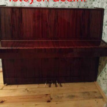 İdman və hobbi Göytəpəda: Belarusiyanin 3 pedalli pianosu demak olar ki tazadir. TECILI Satilir