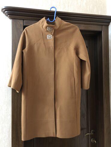 Продаётся кашемировое пальто. Цвет: карамельный. Состояние: новое ( од