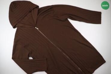 Жіноча кофта з капюшоном на блискавці, р. XL   Довжина: 97 см Довжина
