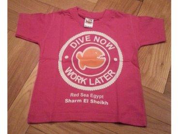Nova majica iz egipta oko 1 godine. za devojcice.  ciklama boja - Belgrade