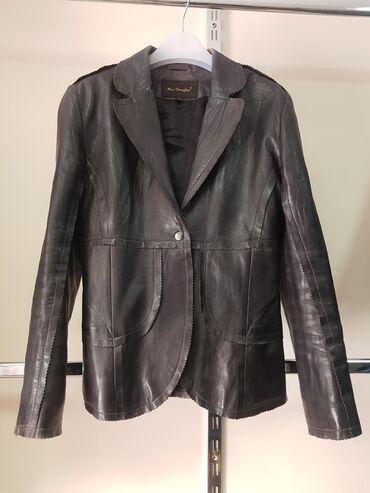 Продаю кожаную куртку. Размер на 44-46. Производство Индия. Очень
