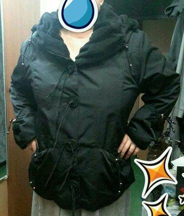 продаю классную стильную парку, с мехом, утеплённая моделька, моделиру в Бишкек - фото 2