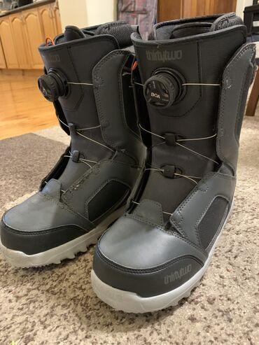 Спорт и хобби - Кыргызстан: ThirtyTwo STW Boa snowboard boots. Size 42.5 Very good condition -