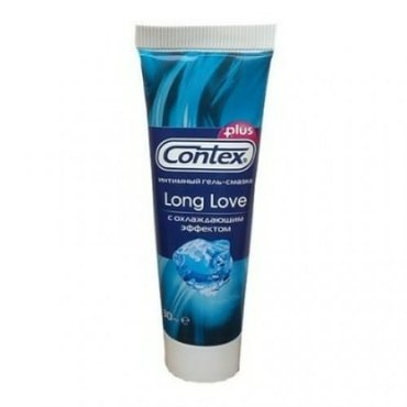 Гель-смазка contex long love (для продления в Душанбе
