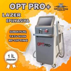 - Azərbaycan: LAZER EPİLYASİYA APARATI Opt pro+ 3 nasatkali lazer epilyasiya aparati