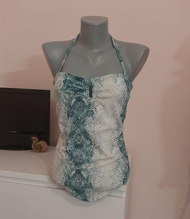 Personalni proizvodi - Pozarevac: Jednodelni kupaci kostim u zmijskom printu Velicina je M Super stanje